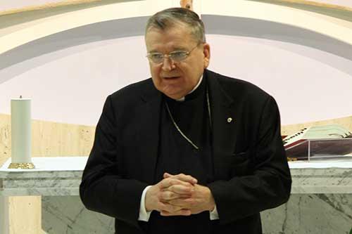 Spotkanie z kardynałem Burke'em
