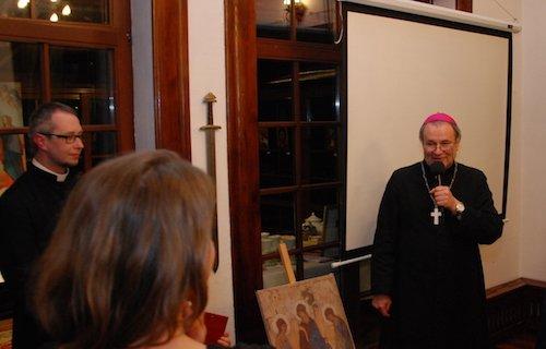 Wizyta biskupa Janochy