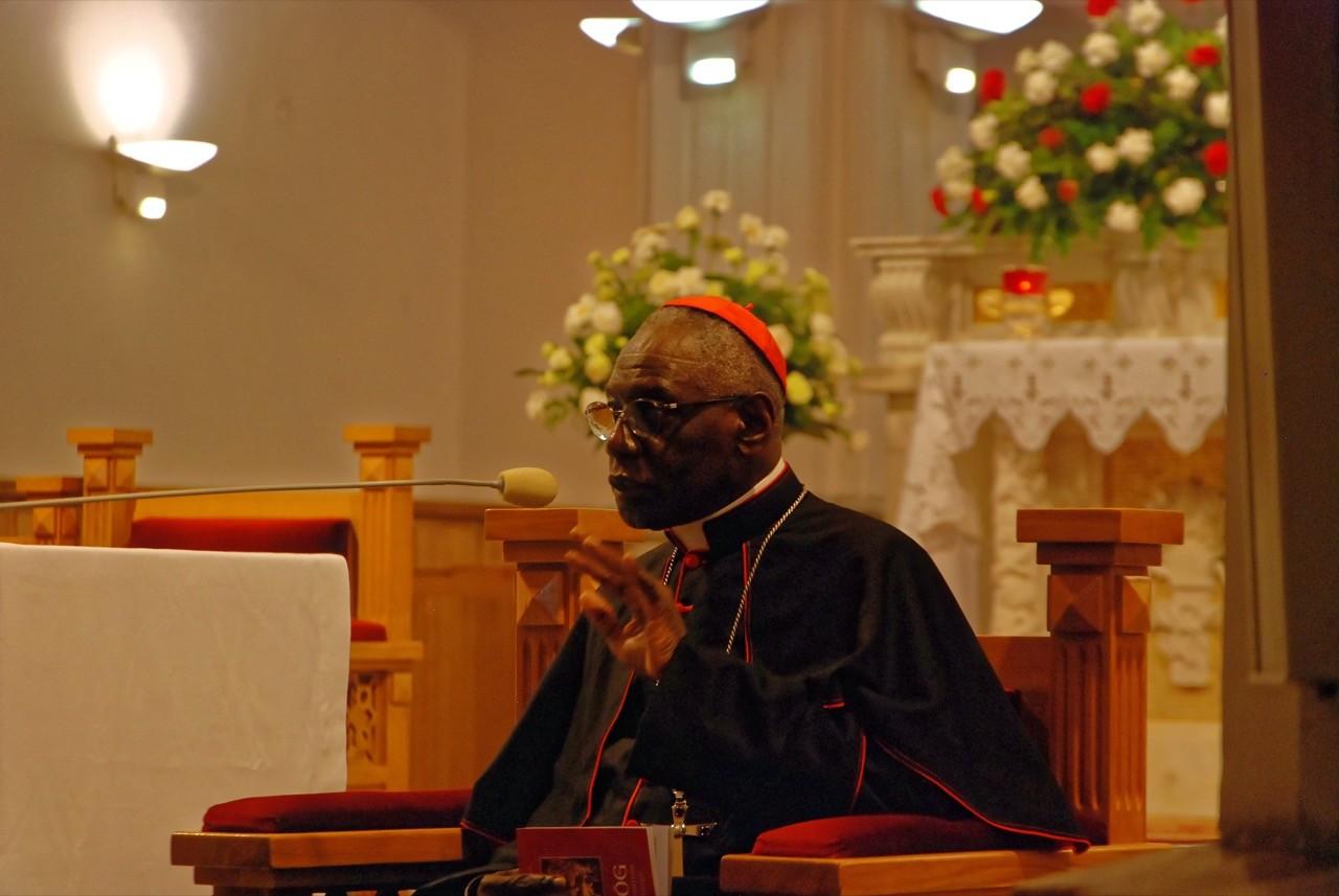 Strażnik liturgii u Świętego Maksymiliana