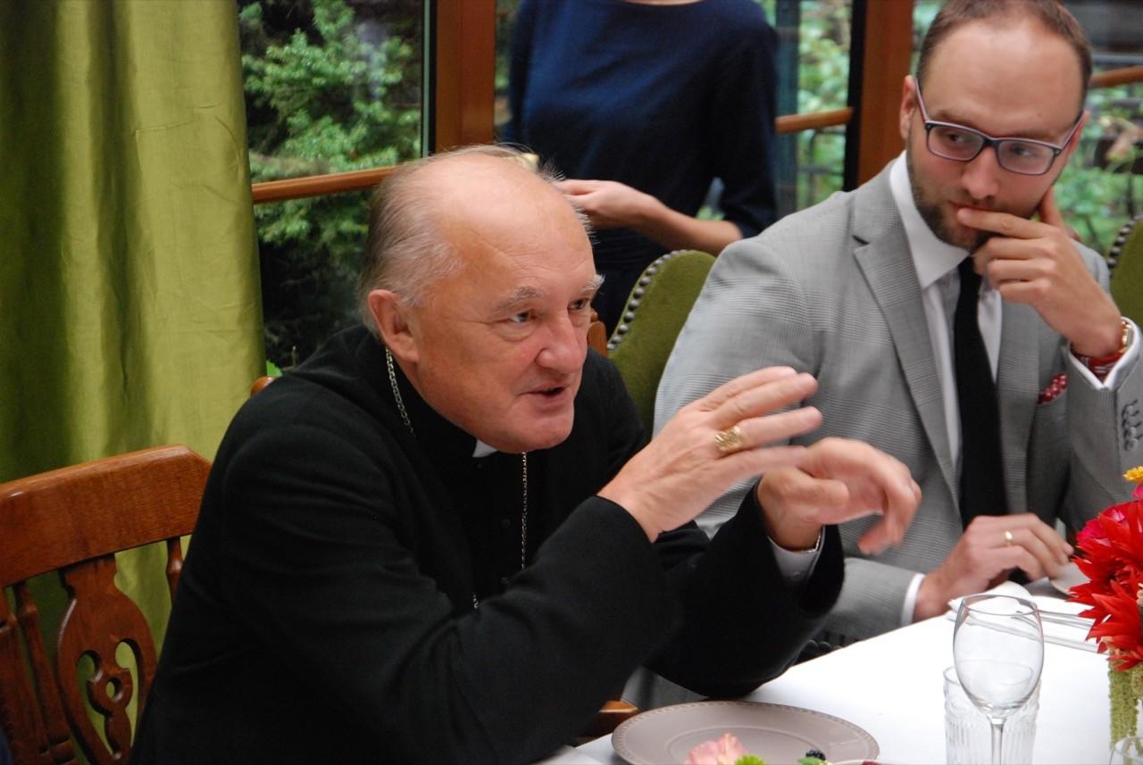 Wizyta ks. Kardynała Kazimierza Nycza w siedzibie Fundacji