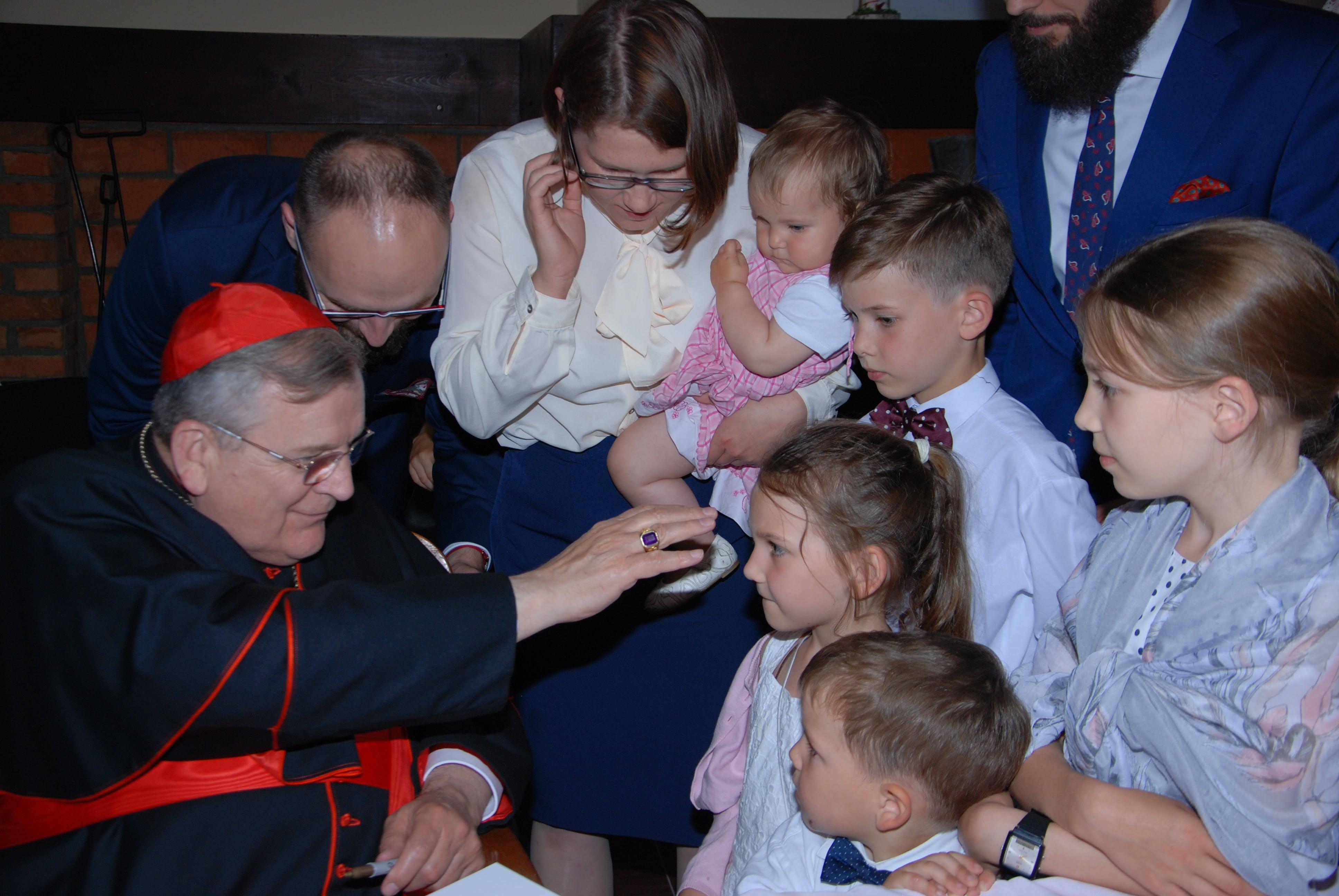 Spotkanie z Kardynałem Burke
